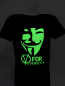 Fluorescent T-shirts - V for Vendetta