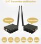 Wifi Transmitter a receiver s dosahom až 100m  pre cúvacie kamery a monitory so 4 pin konektorom