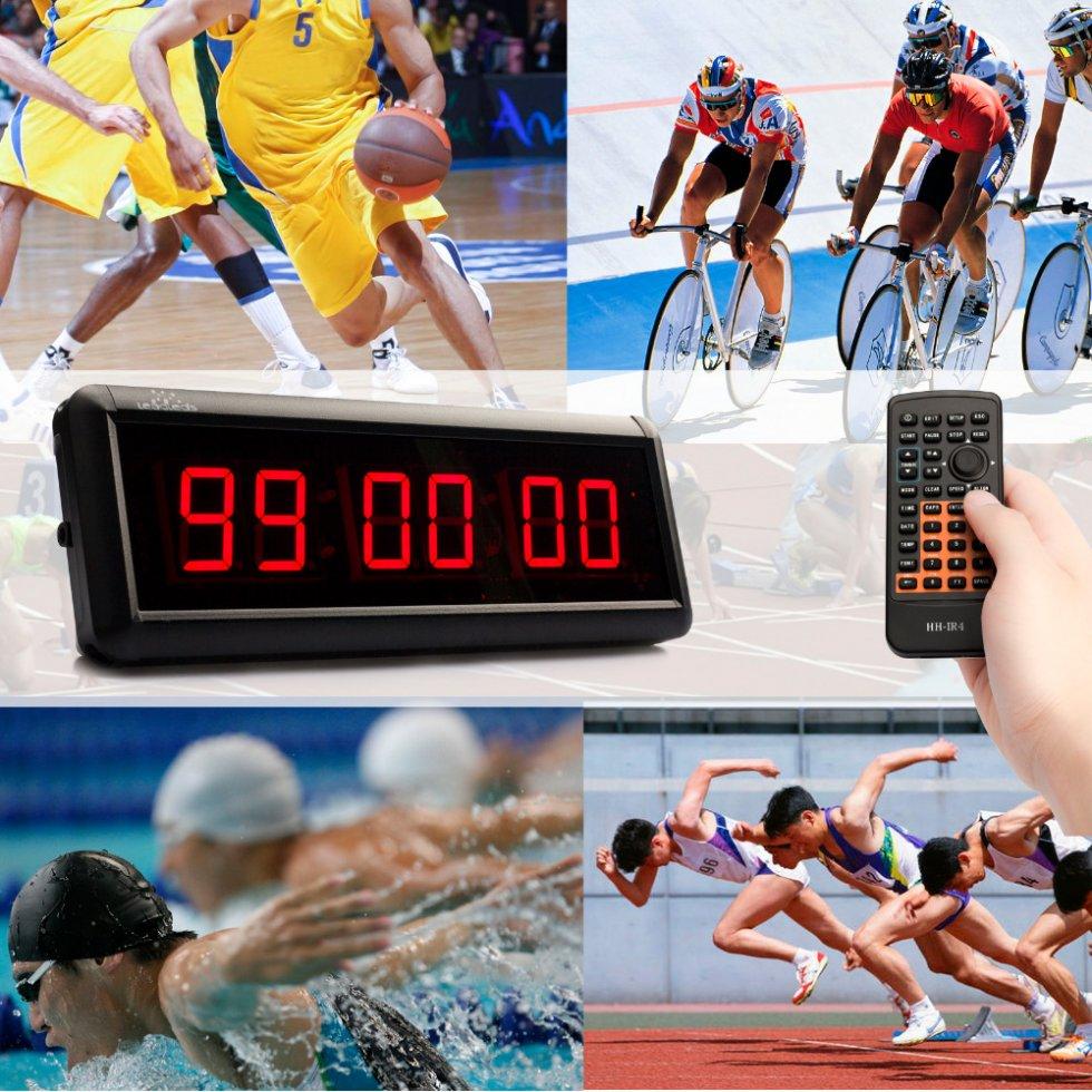 52777a6bc9a2 Reloj LED de cuenta atrás para deportes como fitness