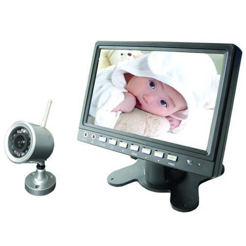 video baby monitor bright eye 7 cool mania. Black Bedroom Furniture Sets. Home Design Ideas