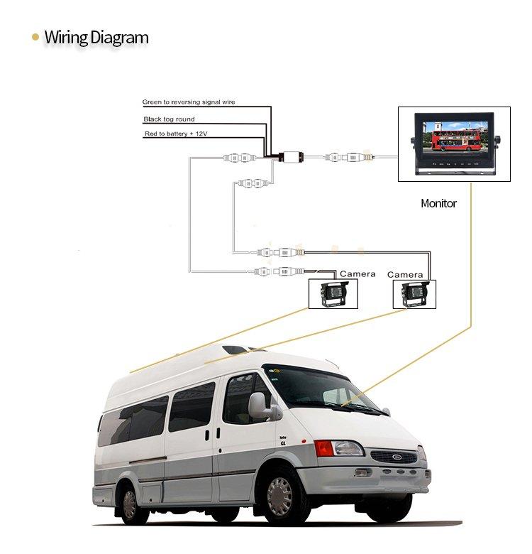10 1 wifi moniteur lcd dans la voiture miroir lien cool mania. Black Bedroom Furniture Sets. Home Design Ideas