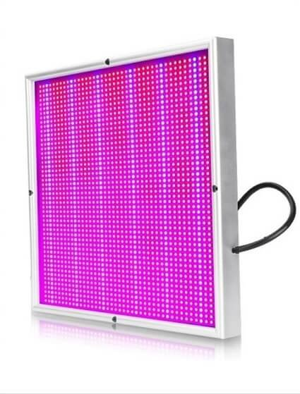 pflanzen unter k nstlicher beleuchtung 200w led panel cool mania. Black Bedroom Furniture Sets. Home Design Ideas