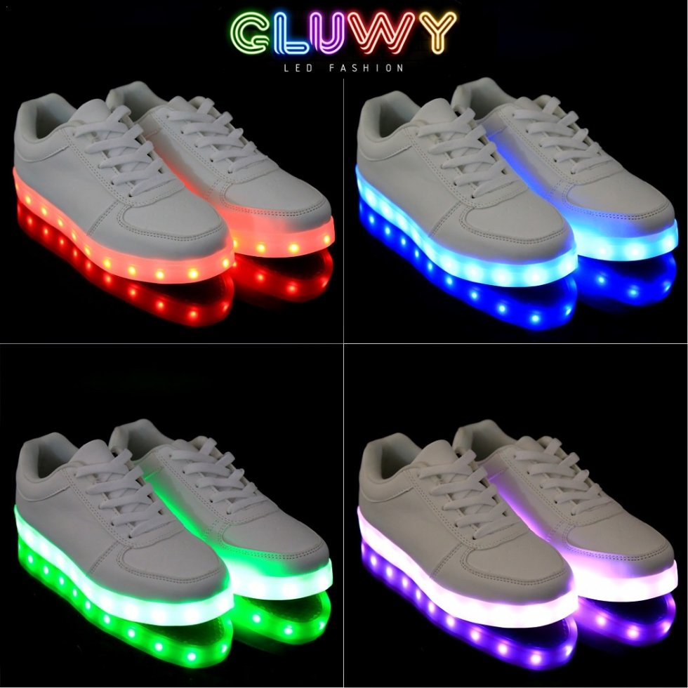 newest collection c2815 a066b Schuhe LED Leucht Gluwy