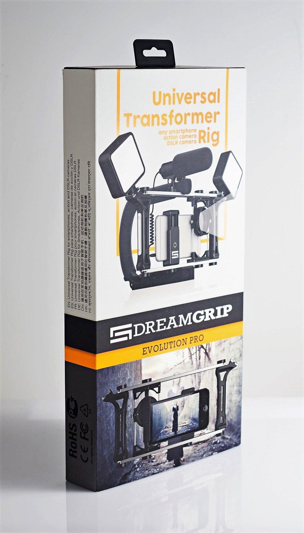 Dreamgrip evolution pro kit universel r glable pour for Appareil photo sans miroir