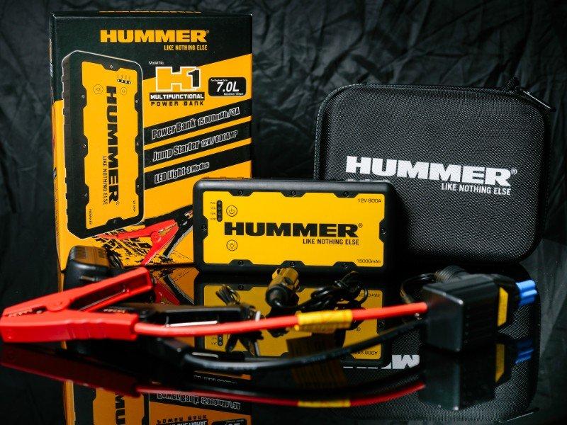 portable autobatterie jumper externe batterie hummer h1 15000mah f r motoren bis 7 l cool mania. Black Bedroom Furniture Sets. Home Design Ideas
