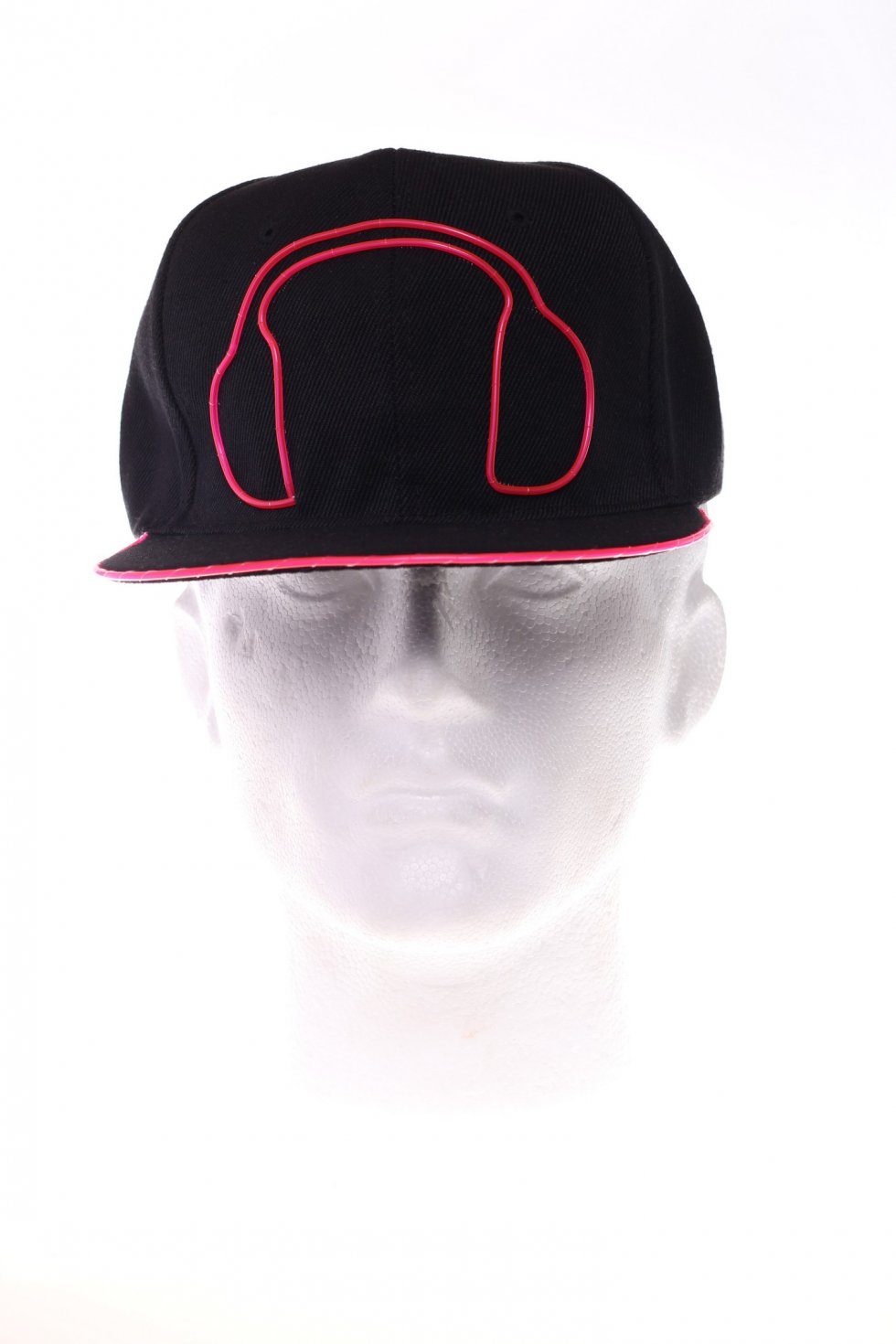 Lighting Caps Headphones Pink Cool Mania