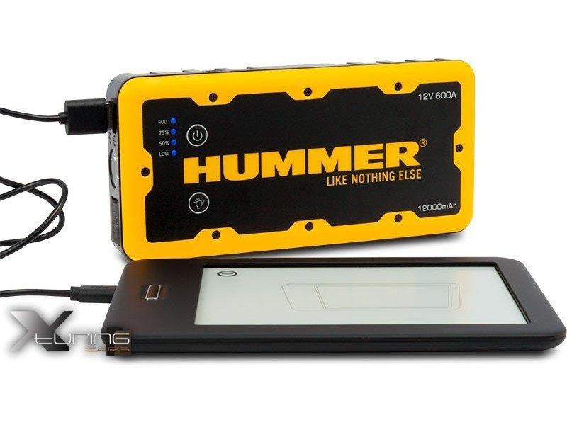 d marreur portatif batterie externe hummer h2 12000mah pour moteurs jusqu 39 6l essence 4l. Black Bedroom Furniture Sets. Home Design Ideas