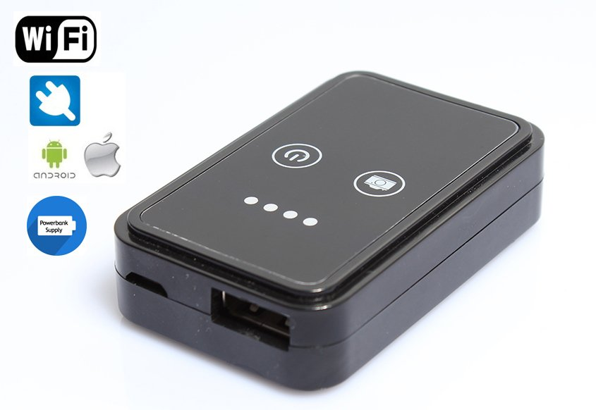 Box USB WiFi per endoscopi, boroscopi, microscopi e ...