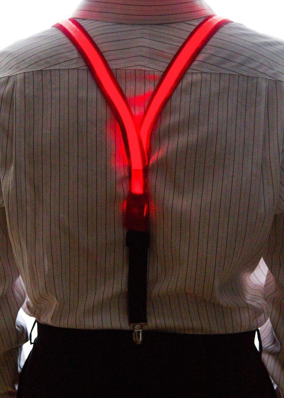 877a17eaf Tirantes LED para hombres - rojo