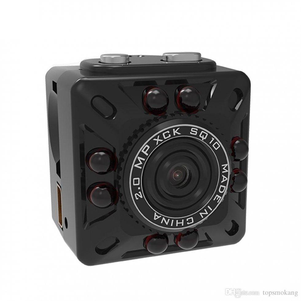 Mini kompaktná Full HD kamera s detekciou pohybu + 8 IR LED  dfa8dc97f61