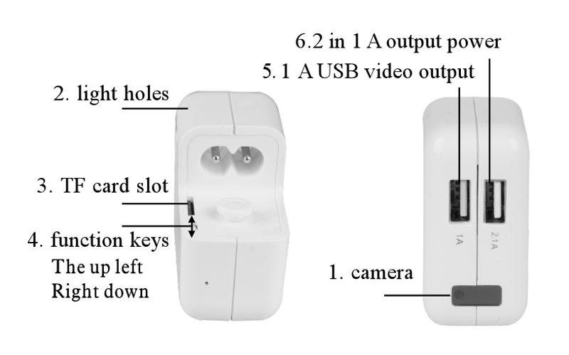 Usb Charger Full Hd Camera Motion Detection Cool Mania