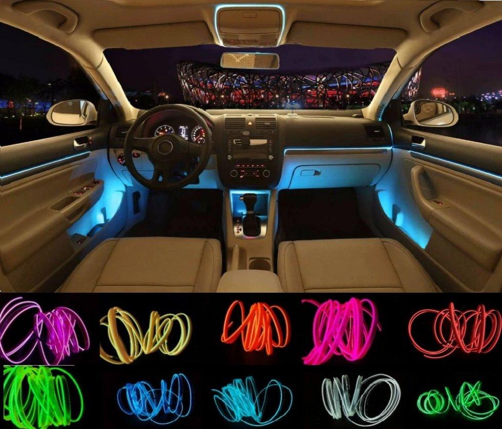 Ultra Barrette d'éclairage à LED pour décoration automobile 12V XO-89