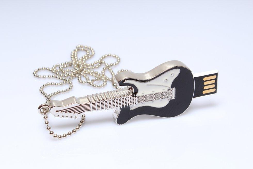 guitare lectrique cl usb 16 go cool mania. Black Bedroom Furniture Sets. Home Design Ideas