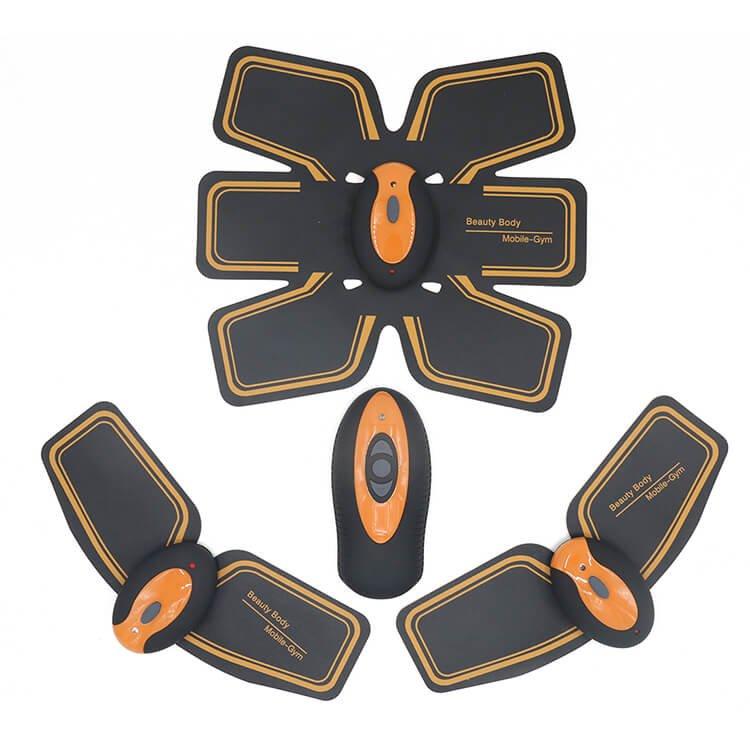 stimulateur musculaire sans fil 10 mode ems t l commande cool mania. Black Bedroom Furniture Sets. Home Design Ideas