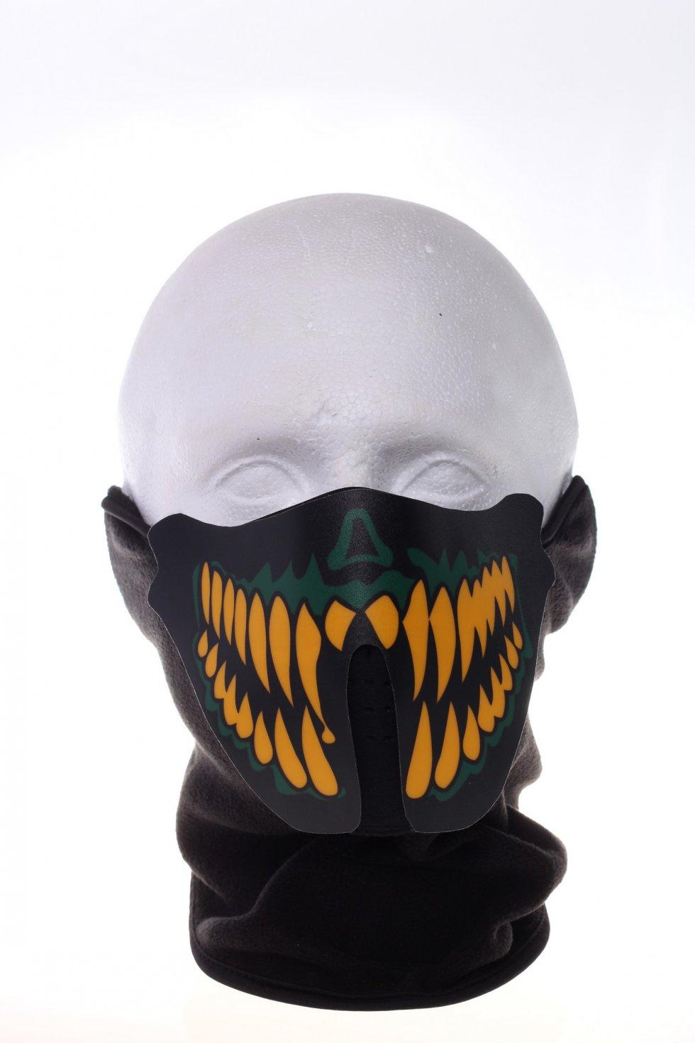 Rave Mask - sound sensitive