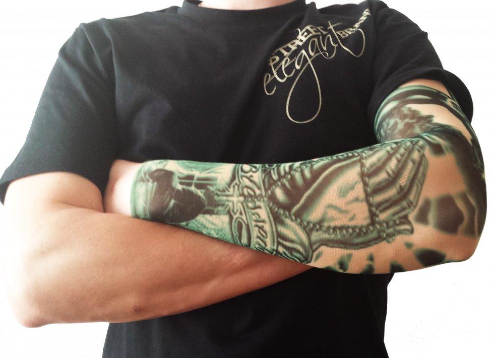 Tatuaż Rękawy Nylon Błogosławiony