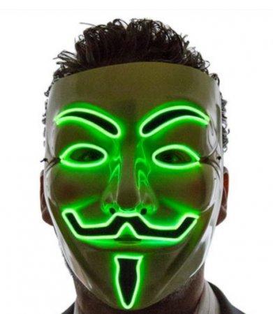 Data Di Halloween.Halloween Masks Led Green