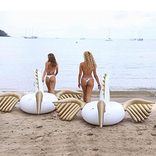 flotteur de licorne pour piscine jouet xxl cool mania. Black Bedroom Furniture Sets. Home Design Ideas