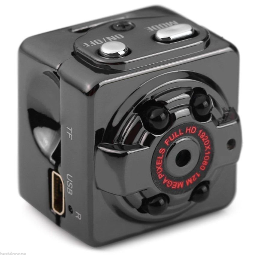 Micro FULL HD camera with motion detection and 4 IR LED | Cool Mania