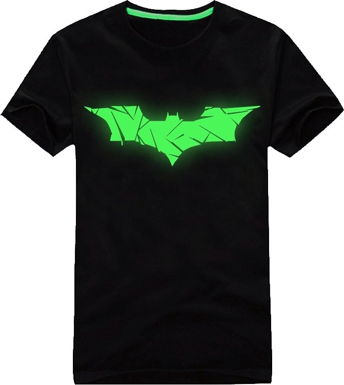 fluorescent t shirt batman cool mania. Black Bedroom Furniture Sets. Home Design Ideas