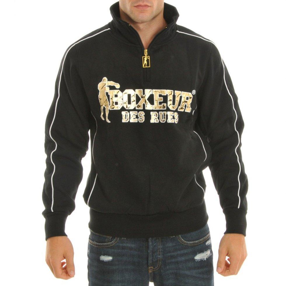 Sweatshirt Gold - Boxeur des Rues | Cool Mania