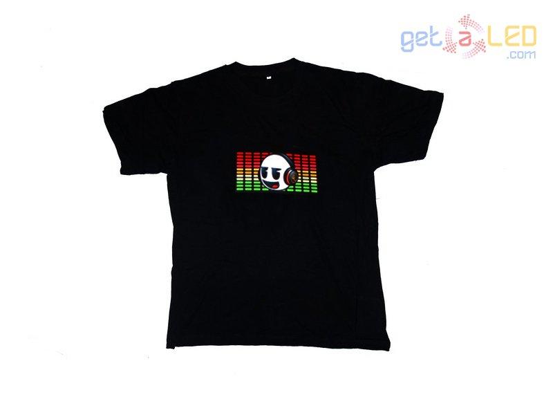 99ad868a4 Camiseta led ecualizador - Smile Equalizer