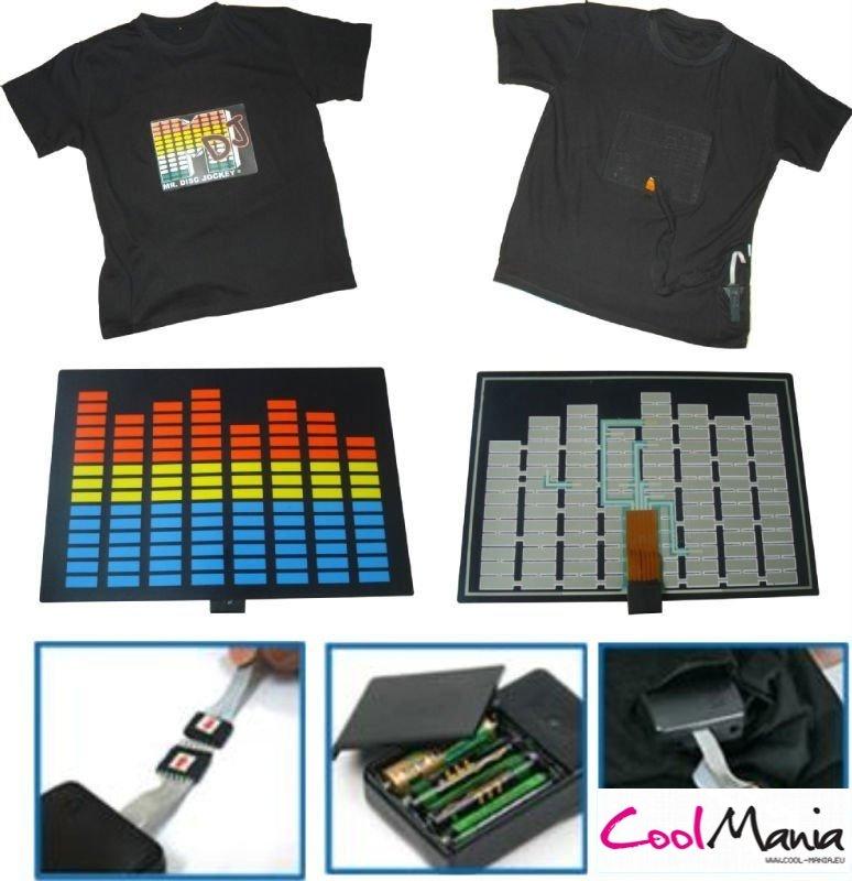 5c219c757 Custom - LED T-shirt design