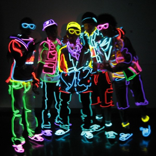 Glow El Draht 2,3 mm - weiß | Cool Mania