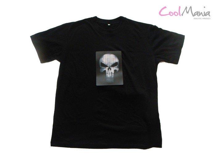 da5690ed1a Led póló - Punisher | Cool Mania