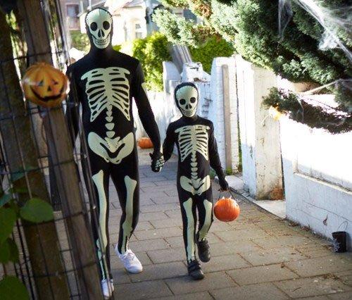 Costumi di Halloween Morph - Glow scheletro  e4fa67b2721f