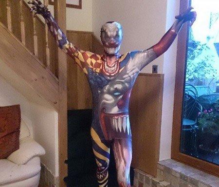 Morph costume - mostro pagliaccio  a9bc430bafe6