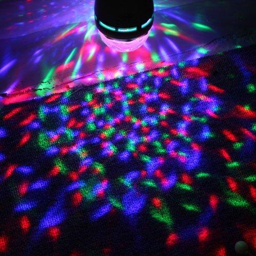 Rota n led disco rgb rovka cool mania - Bola de discoteca de colores ...