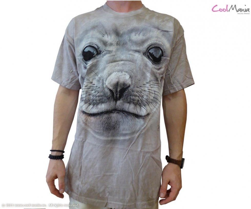 Mountain T-shirt 3D - Seal