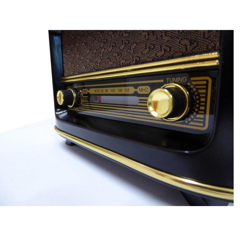 Refinir la radio en bois vintage