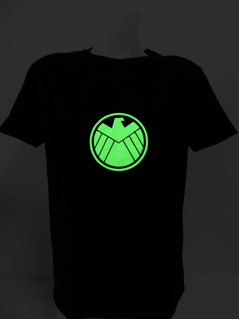 Glow In The Dark T Shirt Captain America Cool Mania