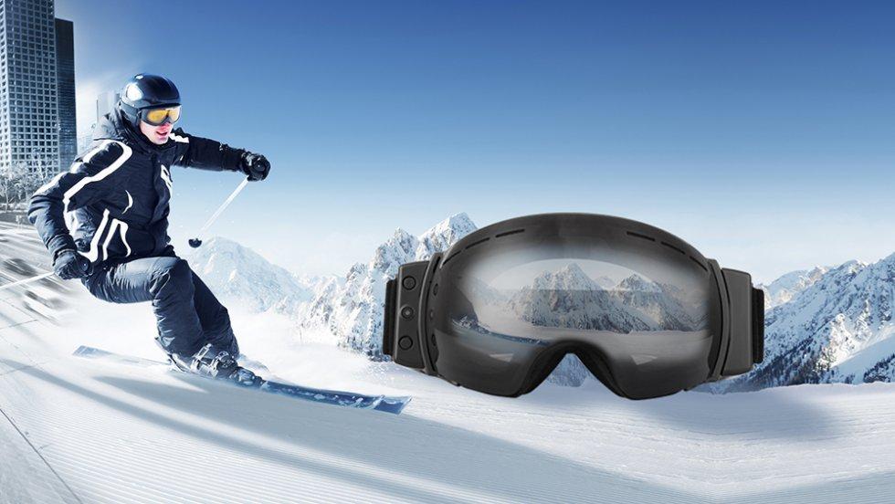 487e27f9381e4 Ski et snowboard lunettes avec caméra HD et Bluetooth