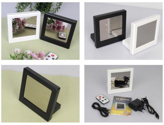 Appareil photo en montre miroir avec une d finition hd for Miroir definition