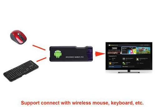 how to connect wireless keyboard to android box