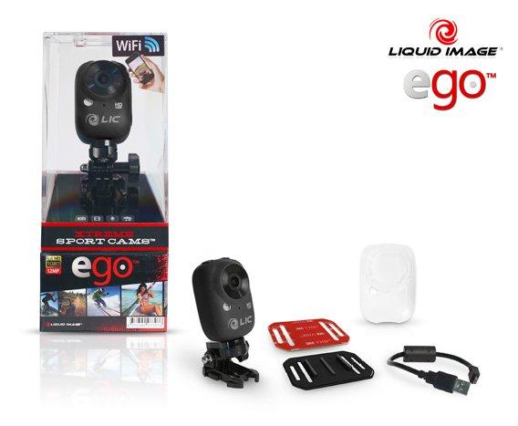 Liquid Image - Ego WiFi HD action camera | Cool Mania