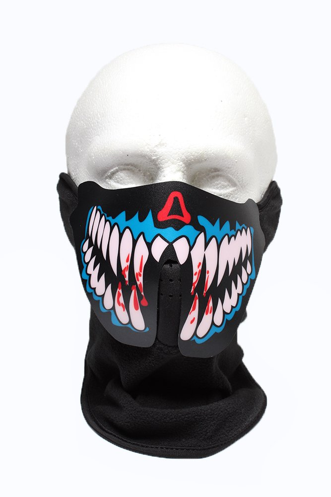 underworld sound sensitive dj face mask cool mania