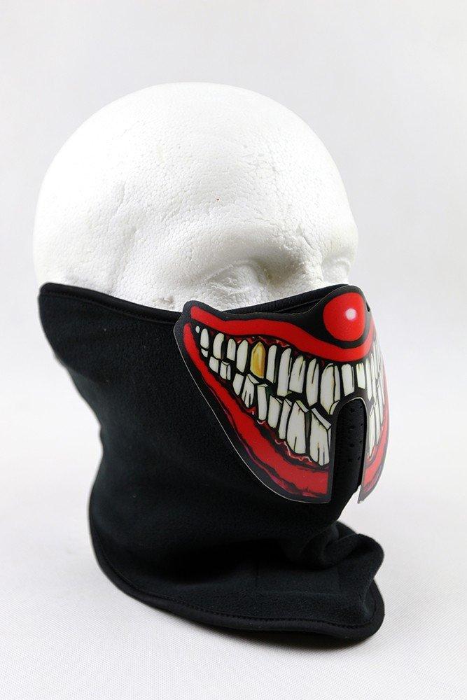 4829dcc6b Karnevalová maska s LED zvukovo senzitívna - klaun | Cool Mania
