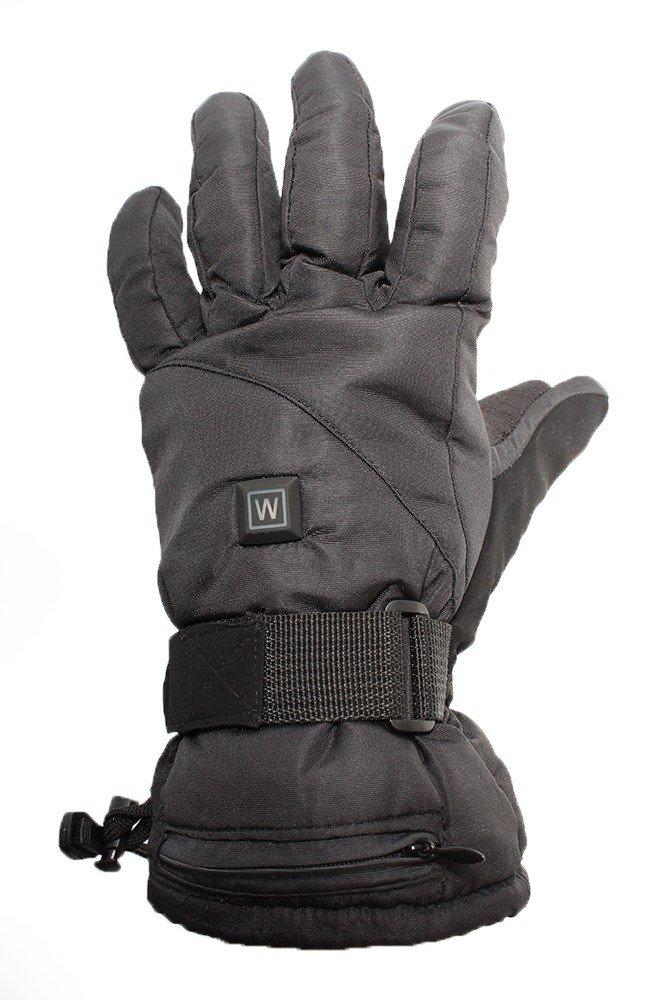 519e5e9eed Vyhrievané rukavice lyžiarske na 9V batériu + 3 stupne vyhrievania ...