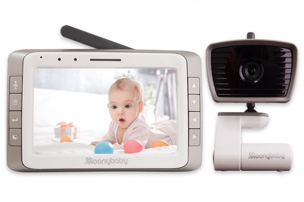 Video Baby Monitor With 5 Quot Lcd Ir Led With Two Way