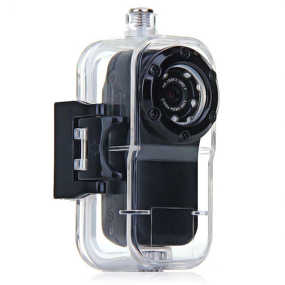 mini full hd sport kamera wasserdicht 10 m 5 ir led. Black Bedroom Furniture Sets. Home Design Ideas