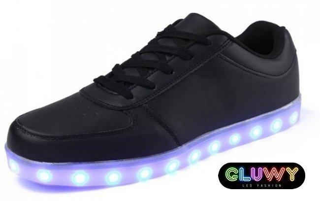 LED tenisky - černé  2cefed0eb67