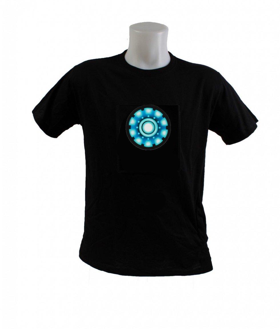 3cb6a008307a IRONMAN Generátor - najnovšie svietiace tričko
