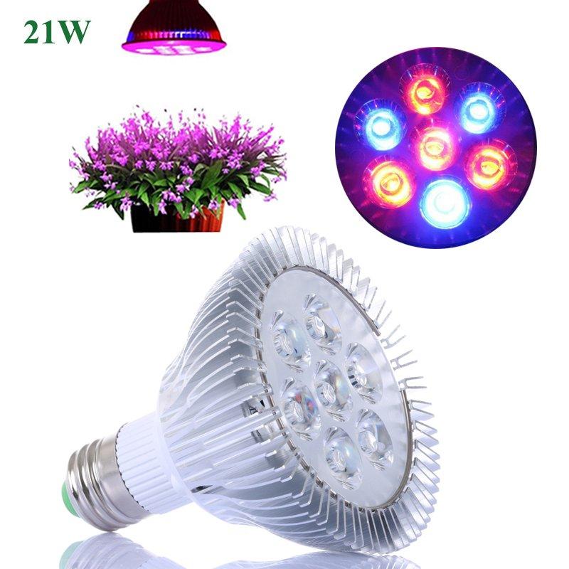 ampoule led 21w pour des plantes 7x3w cool mania. Black Bedroom Furniture Sets. Home Design Ideas