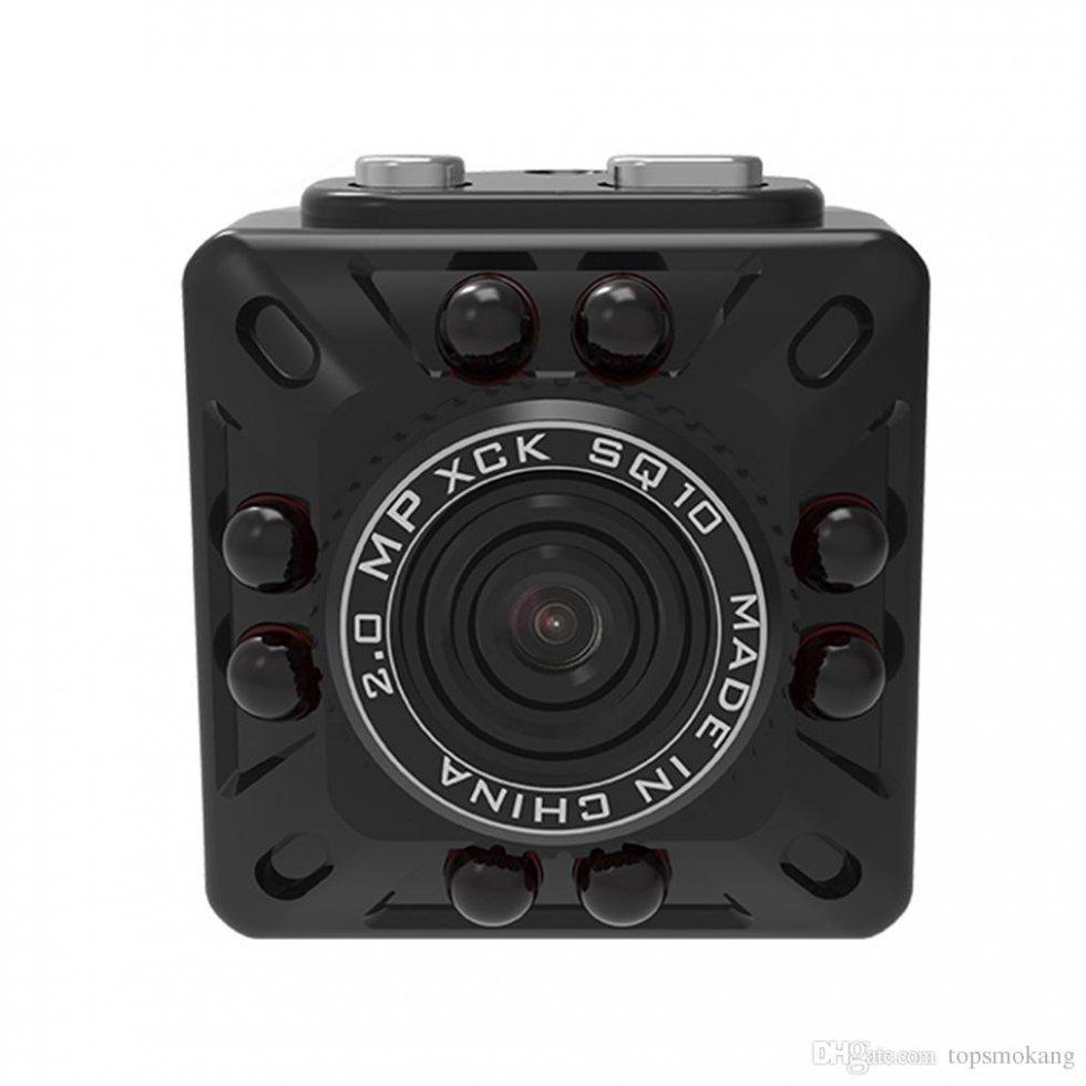 mini cam ra compacte full hd avec d tection de mouvement. Black Bedroom Furniture Sets. Home Design Ideas