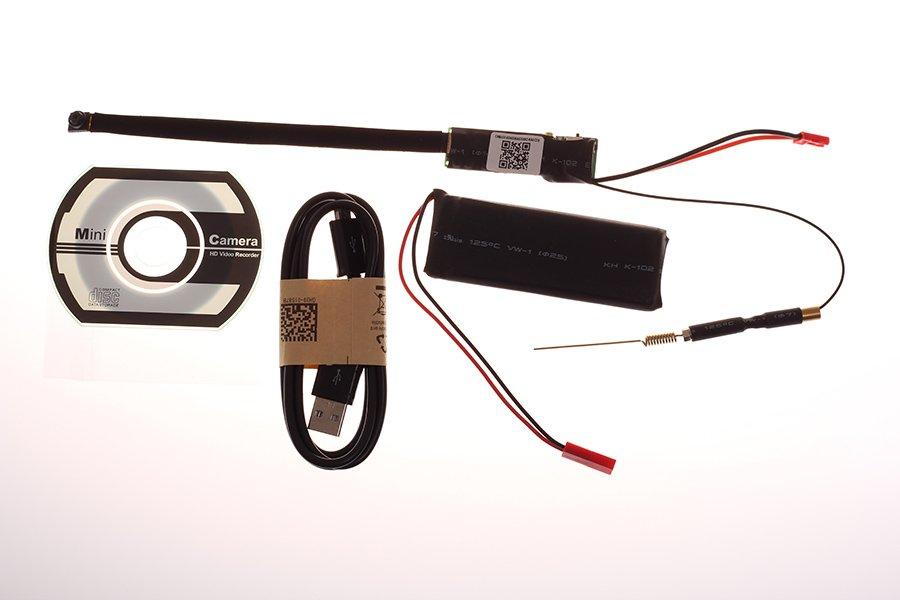mini wifi pinhole camera full hd with li ion battery cool mania. Black Bedroom Furniture Sets. Home Design Ideas