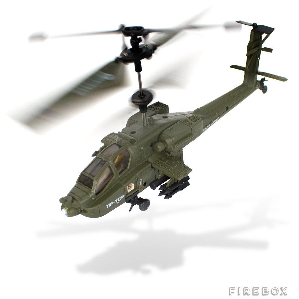 Ferngesteuerte Hubschrauber - Gyro Flyer Apache   Cool Mania